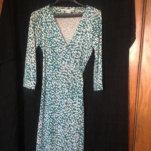 Diane Von Furstenberg Silk jersey Wrap Dress